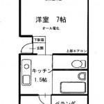 家賃3.3万円の賃貸マンション